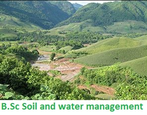 B.Sc Soil and water management
