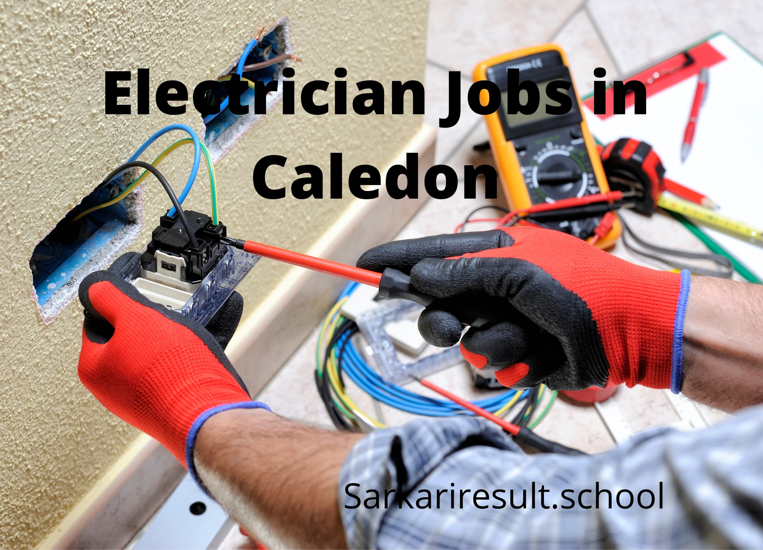 Electrician Jobs in Caledon, ON- Canada